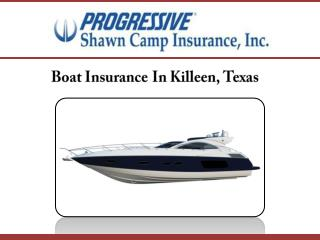 Boat Insurance In Killeen, Texas