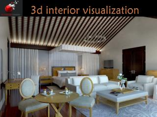 3d interior visualization