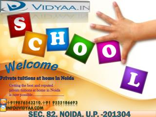 Best Home tuitions in Noida
