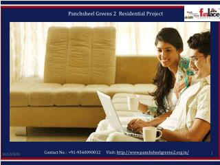 Panchsheel Greens 2, Panchsheel Greens Noida Extension