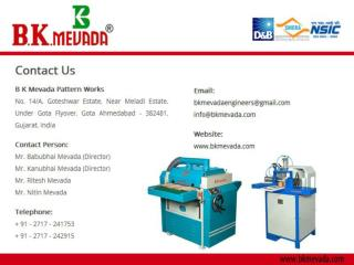 Manufacturer of Woodworking Machinery
