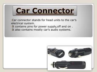 Car Connector Online In India