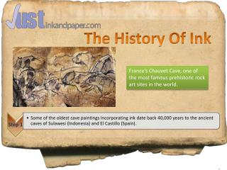 History of Ink
