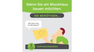 Wie baut man ein Blockhaus?