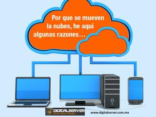 Cloud Web Hosting - ¿Por que moverse al cloud computing o computo en la nube?