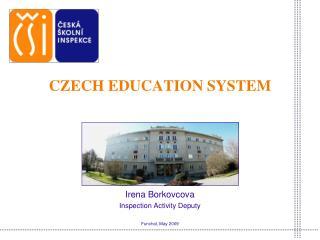 CZECH EDUCATION SYSTEM