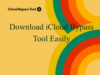 Easy to download an icloud bypass tool