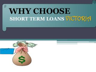 The Option To Get Short Term Loans Victoria