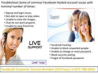 Facebook Help Number | Customer Helpline Number- Facebook  ||//1-877-788-9452//| Monktech