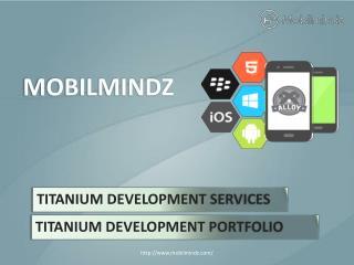 Titanium App Development Services