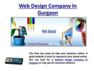 Web Design Company In Gurgaon