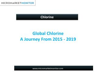 Global Chlorine Market - Analysis and Forecast to 2019