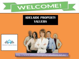 Find extremely property valuer with Adelaide Property Valuers