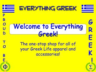 Welcome to Everything Greek The one-stop shop for all of ...