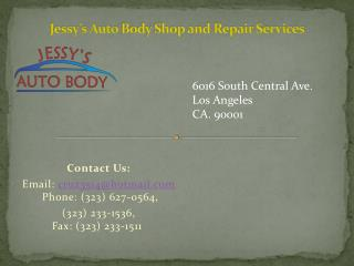 Best Auto Body Shop and Repair Services in Los Angeles, Corona, Glendale, Long Beach