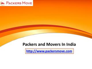 Packers and Movers India @ www.packersmove.com