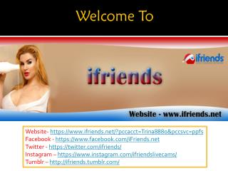 Ifriends - live cam chat