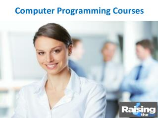 Computer Programming Courses