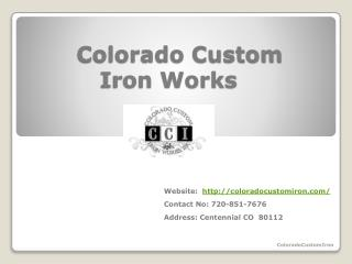 ColoradoCustomIron