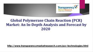 Global Polymerase Chain Reaction (PCR) Market: An In-Depth Analysis and Forecast by 2020