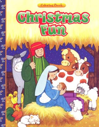 Christmas fun coloring book