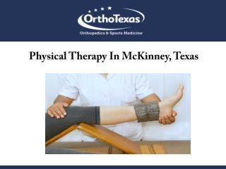 Physical Therapy In McKinney, Texas