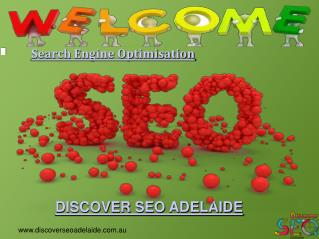 Search Engine Optimisation By Discover SEO Adelaide