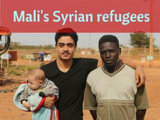 Mali's Syrian refugees