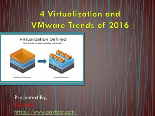 4 Virtualization and VMware Trends of 2016