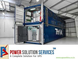 Best UPS Rent in Delhi NCR Call Power Solution Services