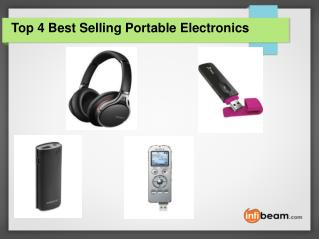 Top 4 Best Selling Portable Electronics