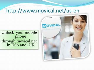 Unlock Mobile phone in USA and UK