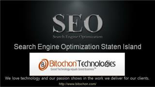 Search Engine Optimization Staten Island