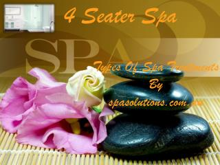 4 seater spa