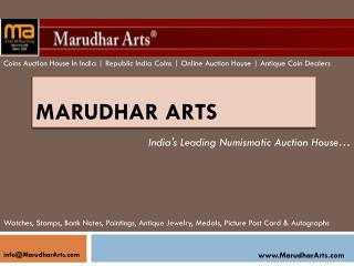 MarudharArts.com - Old Coins For Sale In Chennai | Coins Of Republic India