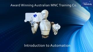 Best Automation training in Pune- Just Engineering