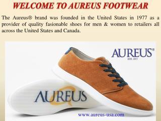 WELCOME TO AUREUS FOOTWEAR