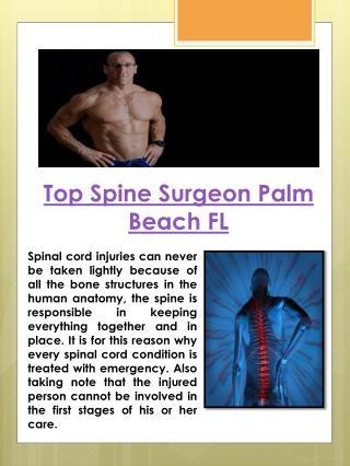 Top Brain Surgeon Palm Beach FL