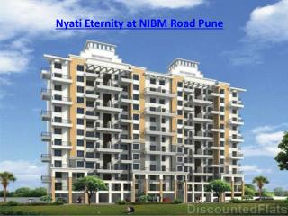 Nyati Eternity at NIBM Road Pune