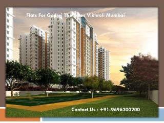 Flats For Godrej The Trees Mumbai