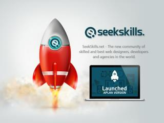 Announcement - SeekSkills - Freelance Website