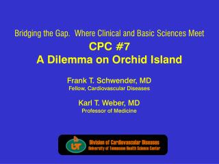 CPC #7 A Dilemma on Orchid Island