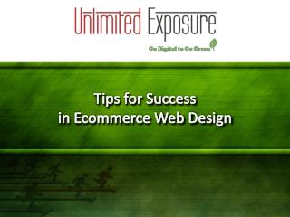 Tips for Success in Ecommerce Web Design