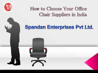 Ergonomic Executive Office Chairs Suppliers India