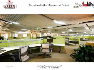 Sarvottam GoldeCommercial Space Greater Noida West
