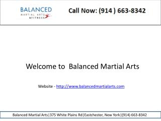 Kids martial arts balanced martial arts