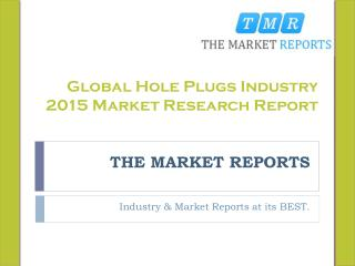 Global Hole Plugs Market Forecast to 2021, Competitive Landscape Analysis and Key Companies