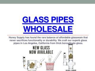 Honey Supply Glass Wholesale