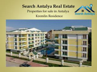 Properties for sale in Antalya