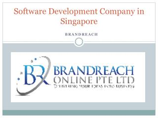Software Development Company in Singapore